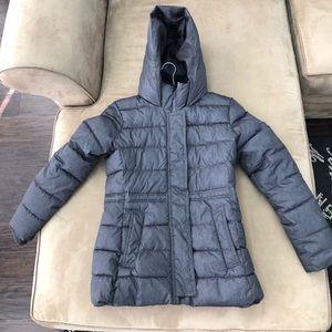 Gap faux fur puffer jacket